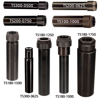 Short Stubby Double Angle Collet Holders