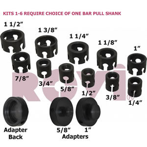 Bar Pullers - Interchangeable Kits